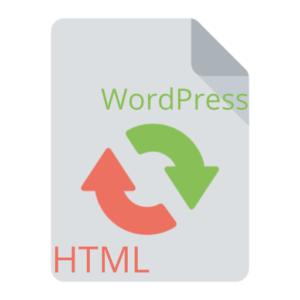 Converting HTML Sites To WordPress